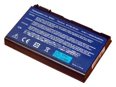 Battery ACER 3100 3690 3900 5100 5210 5610 9000 CL50 (14.4V - 14.8V, 4400mAh)