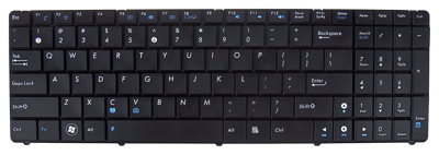 Keyboard ASUS K50 K60 K70 P50 F52 (SMALL ENTER, CLASSIC)