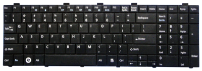 Keyboard FUJITSU SIEMENS Lifebook A530 A531 AH530 AH531 (SMALL ENTER)