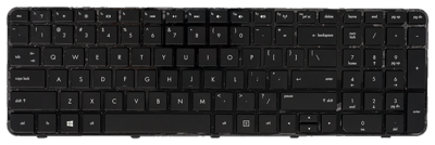 Keyboard HP COMPAQ G7-2000 (SMALL ENTER, CHICLET WITH FRAME)