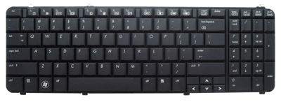 Keyboard HP COMPAQ Pavilion DV6-1000 DV6-2000 (SMALL ENTER)