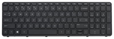 Keyboard HP COMPAQ Sleekbook 15-E000 15-G000 (SMALL ENTER, CHICLET WITH FRAME)