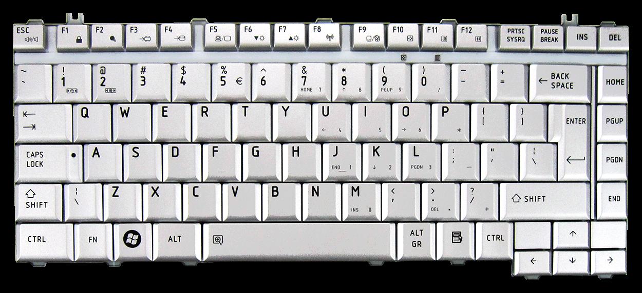 Toshiba A200 Keyboard Replacement Keyboard Toshiba A200 A300