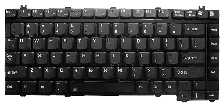 Keyboard Toshiba Satellite A10 A15 A20 A40 A100 M10
