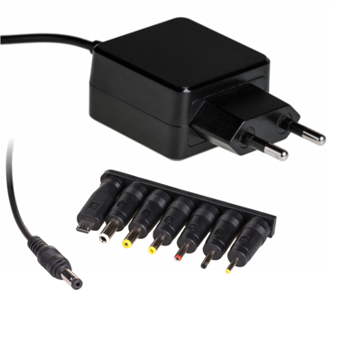 Adapter TABLET UNIVERSAL 15W - 5V/3A (8 connectors)