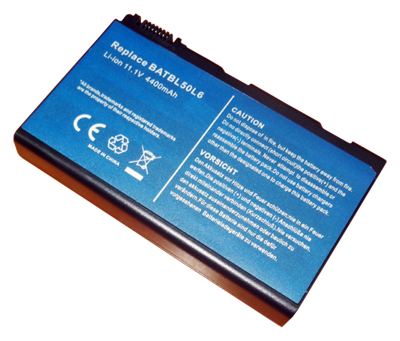 Battery ACER 3100 3690 3900 5100 5210 5610 9000 CL50 (10.8V - 11.1V, 4400mAh)