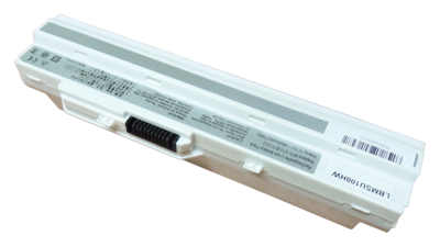 Battery MSI U90 U100 U120 U130 U200 U250 (WHITE, 6600mAh)