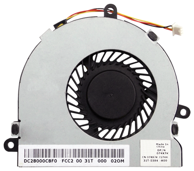 Fan DELL 15R 3521 5521 17R 5721 HP Compaq 240 250 14-R 15-R (OEM, 3PIN)