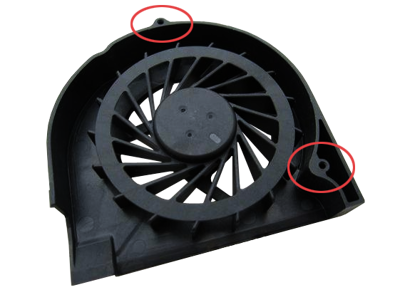 Fan HP COMPAQ G50 G60 G70 CQ50 CQ60 CQ70 (3PIN, 2 SCREWS)