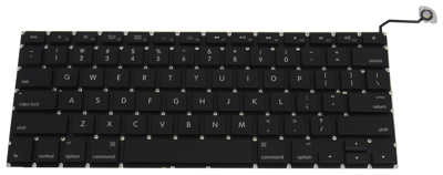 "Keyboard APPLE Macbook Pro 15"" A1286 (SMALL ENTER)"