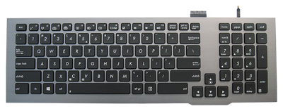 Keyboard ASUS G75 G75V G75VW G75VX (BACKLIT)