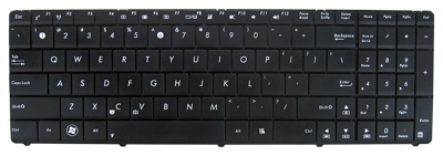 Keyboard ASUS UL50 K52 A52 G51 G72 G73 F70 N70 (SMALL ENTER, CLASSIC)
