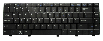 Keyboard DELL Vostro 3300 3400 3500 (SMALL ENTER, BACKLIT)