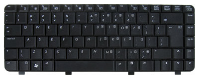 Keyboard HP COMPAQ 6520 6720 540 550 (BIG ENTER)