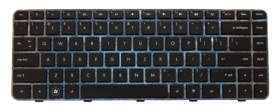 Keyboard HP COMPAQ Pavilion DV5-2000 DM4-1000 DM4-2000 (BACKLIT)