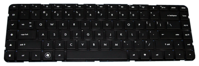 Keyboard HP COMPAQ Pavilion DV6-3000 DV6-4000 (SMALL ENTER, CHICLET WITHOUT FRAME)