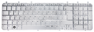Keyboard HP COMPAQ Pavilion DV7-1000 (SILVER, BIG ENTER)