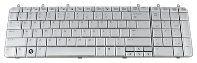 Keyboard HP COMPAQ Pavilion DV7-1000 (SILVER, SMALL ENTER)