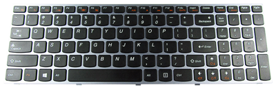 Keyboard IBM LENOVO IdeaPad B5400 M5400 (ORG, CHICLET WITH SILVER FRAME)