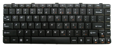 Keyboard IBM LENOVO Ideapad U350 (SMALL ENTER)