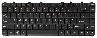 Keyboard IBM LENOVO Ideapad Y450 Y550