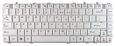 Keyboard IBM LENOVO Ideapad Y450 Y550 Y560 (WHITE)