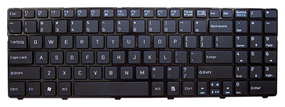 Keyboard MSI A6400 CX640 CR640 (SMALL ENTER, CHICLET WITH FRAME)