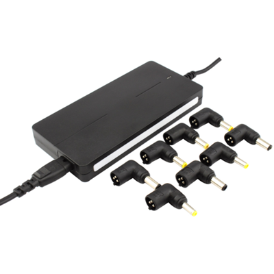 Laptop adapter UNIVERSAL 90W SLIM (6 connectors)