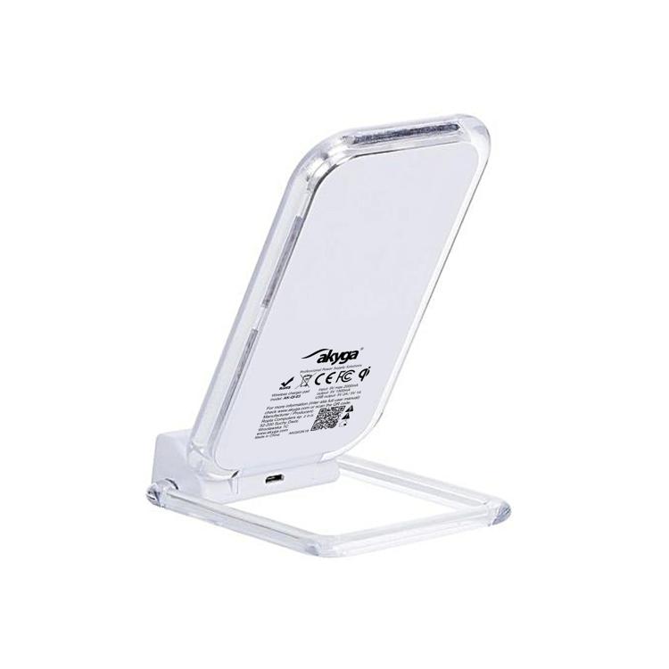 AKYGA Induction charger QI 7.5W + 2x USB AK-QI-03