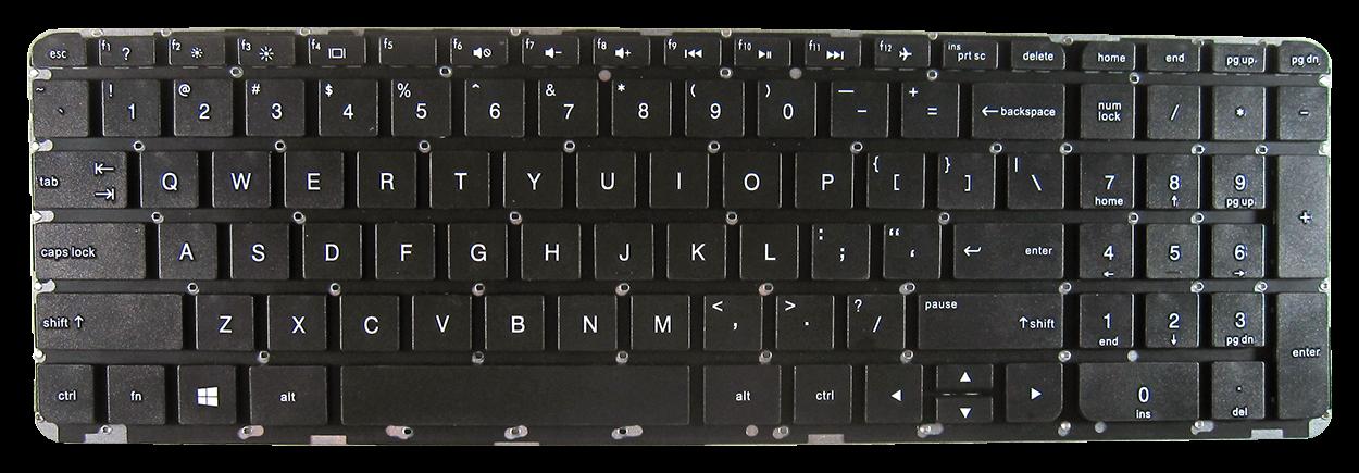 Keyboard HP COMPAQ Pavilion 15-P 17-P 17-F