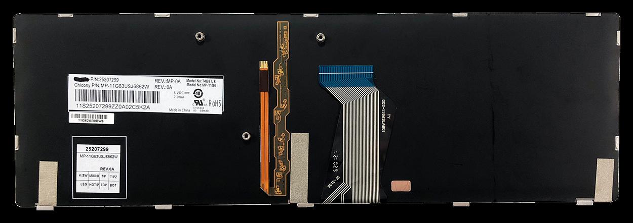 Keyboard IBM LENOVO Y580 (SMALL ENTER)
