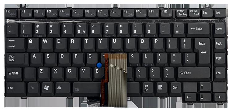 Keyboard TOSHIBA Satellite 6100 9000 M20 Tecra 2300 A1 S1 S2 M1 BIG ENTER