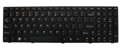 Keyboard IBM LENOVO Ideapad G560 G570 G770 G780 Z560 (SMALL ENTER, CHICLET WITH BLACK FRAME)