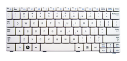 Keyboard SAMSUNG N128 N145 N148 N150 N151 NB30 (WHITE)