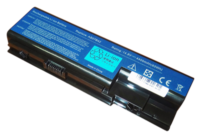 Bateria do laptopa ACER Aspire 5220 5320 5520 5720 5920 6930 7220 (14.4V - 14.8V, 4400mAh)